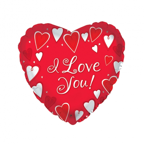 Show them how much you love them with this fun 18 inch heart shaped helium balloon. <br /><br />Delivered inflated and featuring the text 'I Love You', it will float out of the box when opened! Don't worry, it does have weight attached to stop it flying away!
