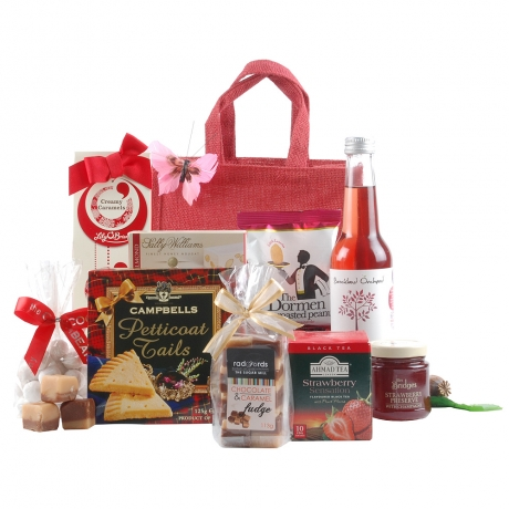 With contents such as Plum & Cherry Posh Pop, Toffee Bonbons and Almond Nougat, this scrumptious offering is sure to bring plenty of joy to to the recipient.<br /><br />