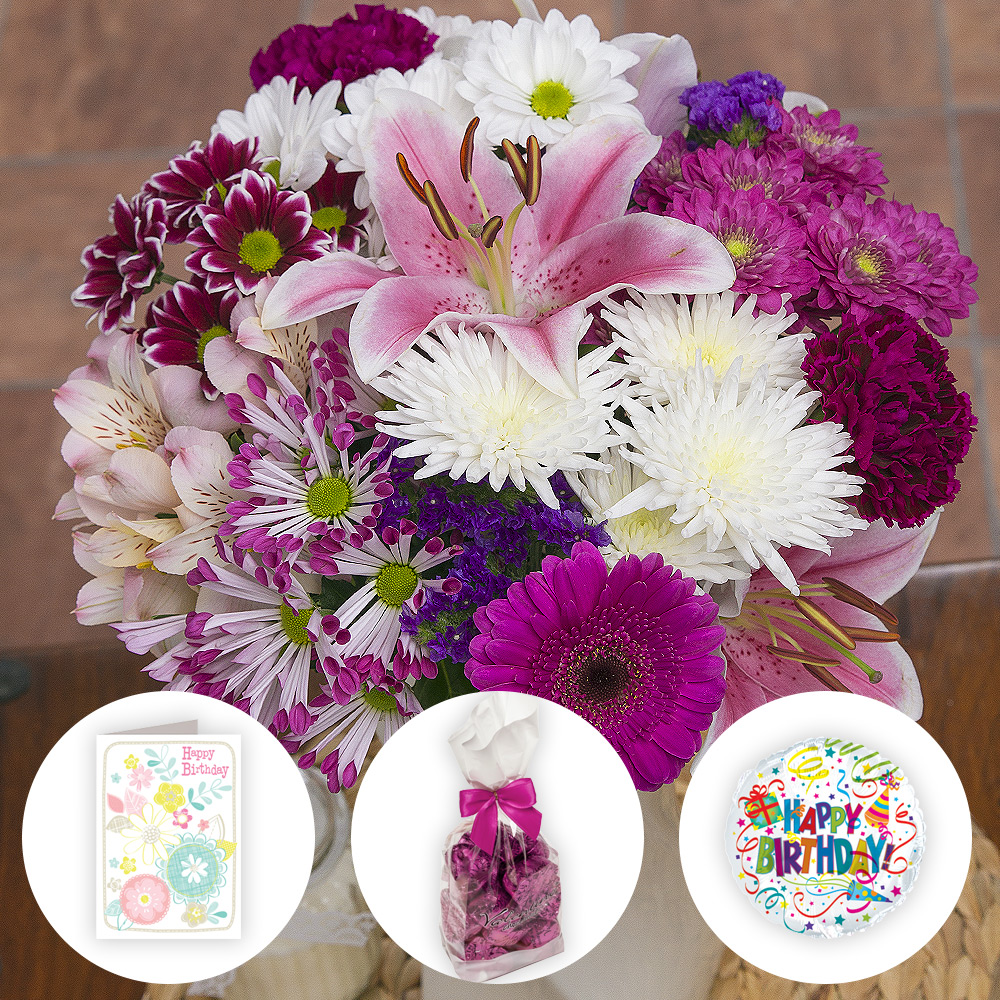 luxury birthday gifts  luxury birthday flowers gift  bunches.co.uk, Beautiful flower