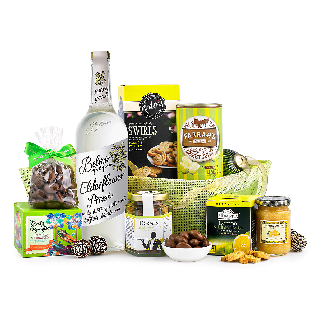 This gorgeous hamper is full of refreshing gourmet treats, including Elderflower Presse and Lemon & Fruit Teas.<br /><br /> If you're looking for a gift that's a little different, then this hamper is sure to delight.