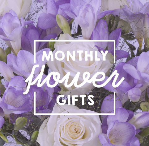 Monthly flower gifts from Bunches