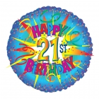 21st Birthday Balloon