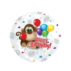 Birthday Monkey Balloon
