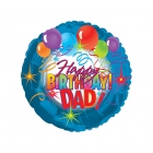 Happy Birthday Dad Balloon