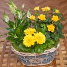 Springtime Flower Basket