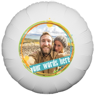 General Message Photo Balloon