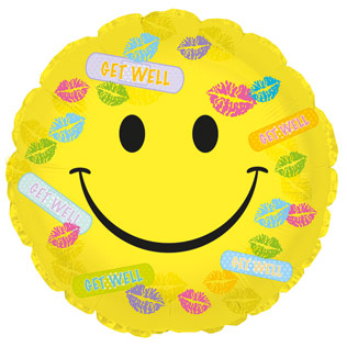 Get Well Band Aid Balloon