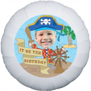 Lil' Pirate Personalised Balloon