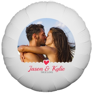 True Love Photo Balloon