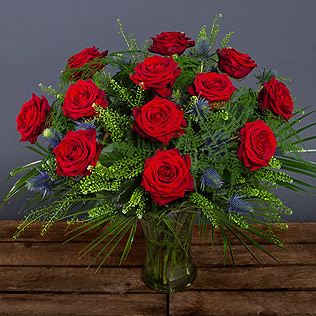Red Naomi Rose Bouquet
