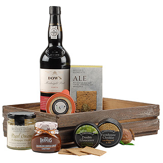 Port and Cheese Gift