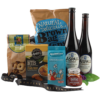 Cider and Snacks Hamper
