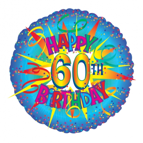 Bunches.co.uk, 488[^]B60 60th Birthday Balloon B60
