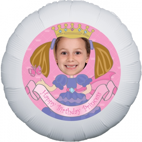 Bunches.co.uk, 488[^]BP044 Lil Princess Personalised Balloon BP044