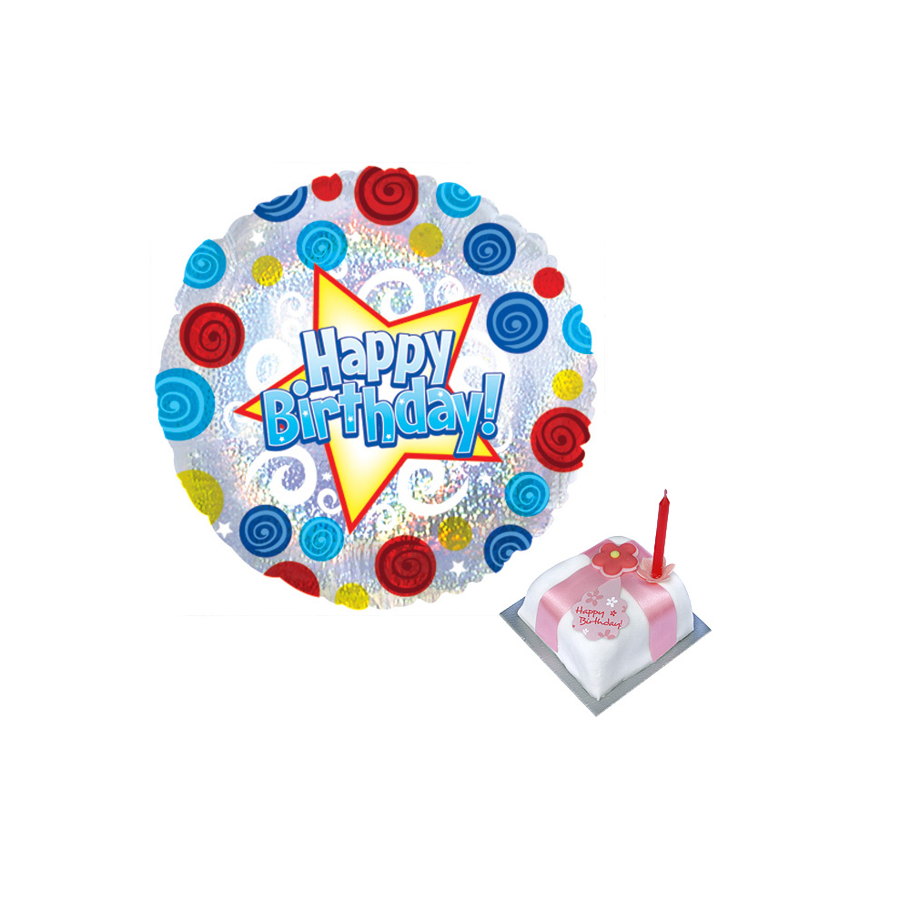 Birthday Balloon Gift | Birthday Balloon And Cake Delivery ...